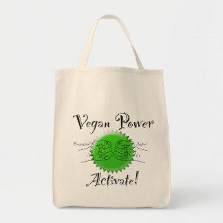 Vegan Power Activate Grocery Bag