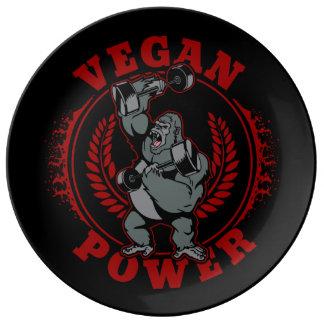 Vegan Power Bodybuilder Gorilla Plate
