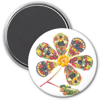 VEGAN PowerFlower Magnet
