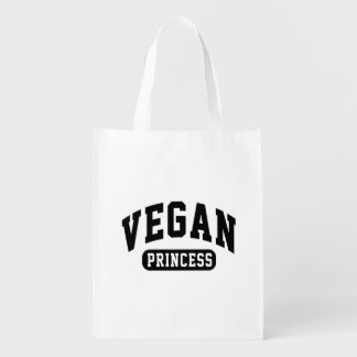 Vegan Princess Reusable Grocery Bag