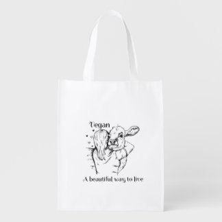 VEGAN REUSABLE BAG