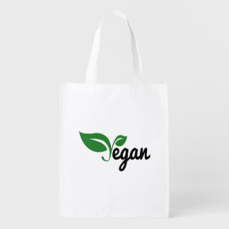 Vegan Reusable Grocery Bag