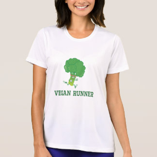 Vegan Runner Broccoli T-Shirt