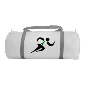 Vegan Runner hashtag Gym Duffel Bag