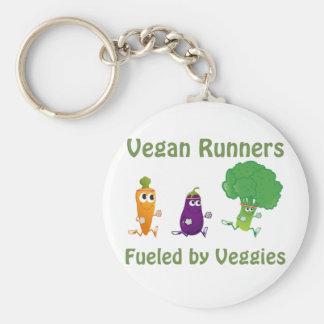 Vegan Runners - fueled by Veggies Key Ring