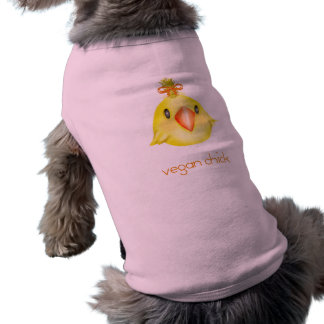 vegan sleeveless dog shirt
