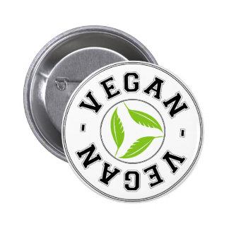 Vegan Sports Logo 6 Cm Round Badge