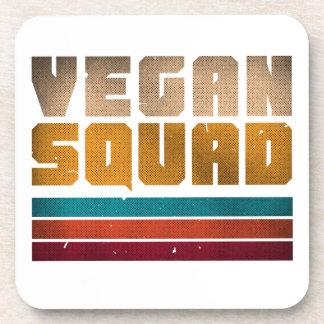 Vegan Squad Vintage Coaster