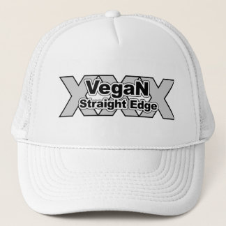 Vegan Straight Edge Hat