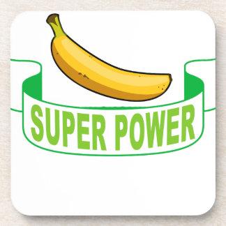 VEGAN SUPER POWER . DRINK COASTERS
