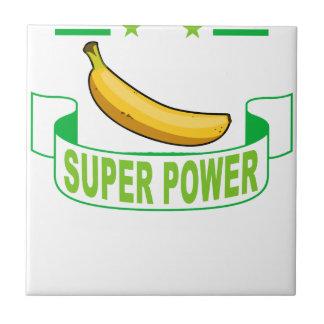 VEGAN SUPER POWER . TILE