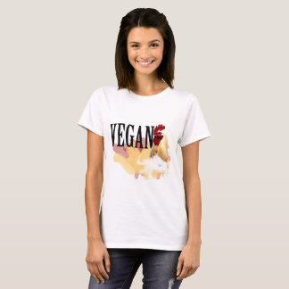 Vegan T-Shirt - The Magnificent Chicken