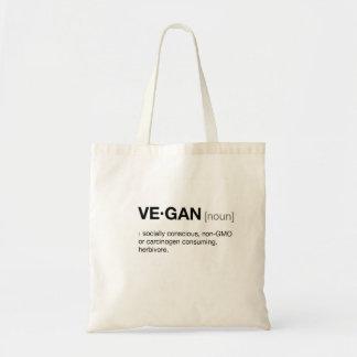 Vegan Tote Budget Tote Bag
