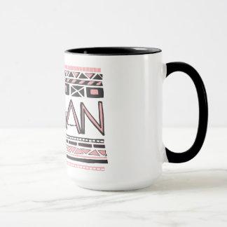 Vegan/Tribal print Mug