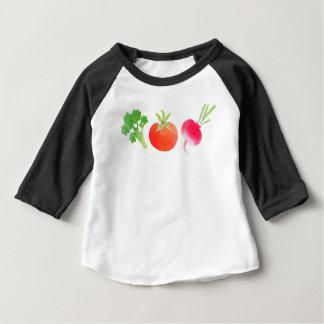 Vegan veggies baby baby T-Shirt
