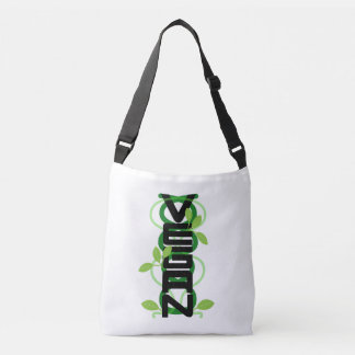 Vegan Vertical Tote Bag