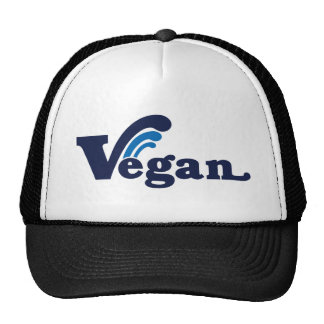 Vegan wave design cap