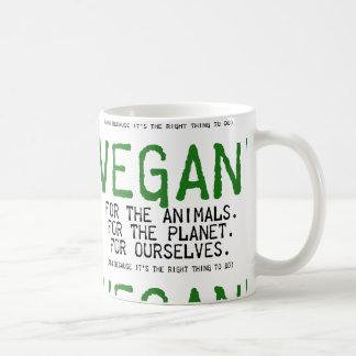 VEGAN WILL BE THE ANIMALS COFFEE MUG