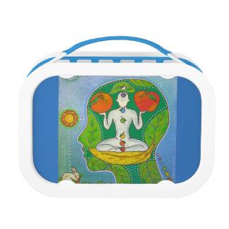 Vegan yoga lunchboxes