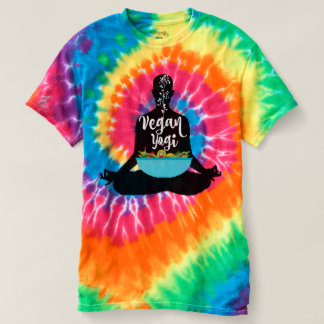 Vegan Yogi tie-dyed T T-Shirt