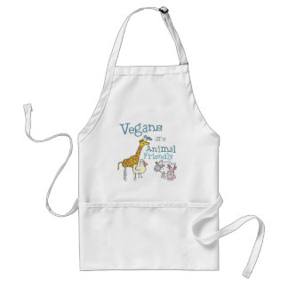 Vegans are Animal Friendly Standard Apron
