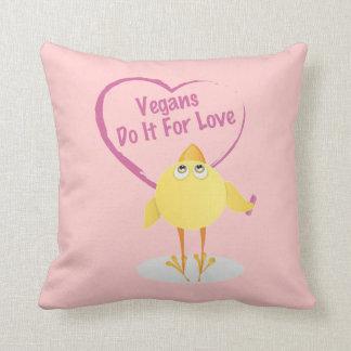 Vegans Do It For Love Cushion