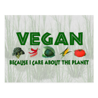 Vegans for the Planet Postcard