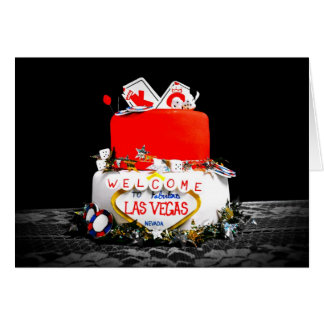 Vegas Baby! Card