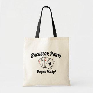 Vegas Bachelor Party Canvas Bag