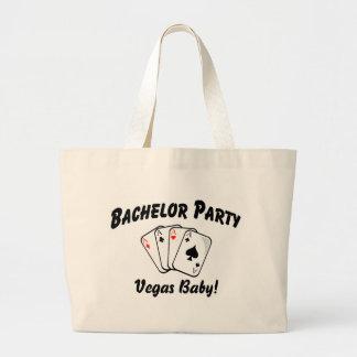 Vegas Bachelor Party Jumbo Tote Bag