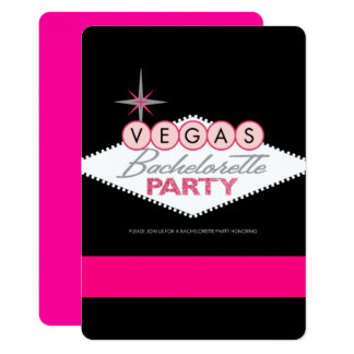 Vegas Bachelorette Party Card