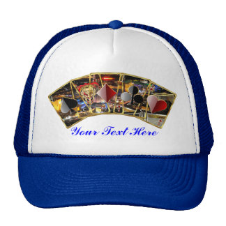 Vegas Casino Style Please View notes Trucker Hat