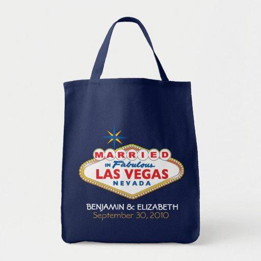 Vegas Destination Wedding Commemorative Tote Tote Bag