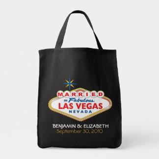 Vegas Destination Wedding Commemorative Tote Tote Bags