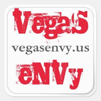Vegas Envy Square Sticker