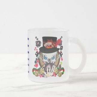 Vegas Gambler All styles View Artist Comments Frosted Glass Mug