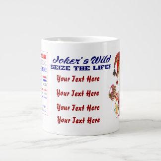 Vegas Joker's JUMBO View Large Image below Jumbo Mug