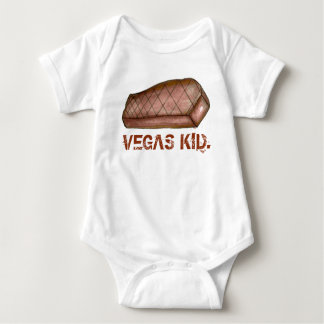 Vegas Kid Las Vegas NV Nevada Strip Steak Baby Bodysuit
