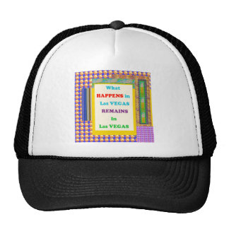 VEGAS, LAS VEGAS America Casino Resorts Travel fun Trucker Hats