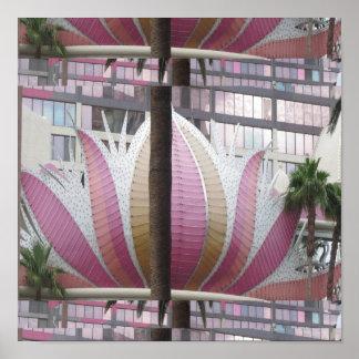 VEGAS LOTUS UNIQUE : Casinos,Hotels,Resorts Poster