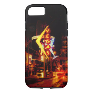 Vegas Nightlife - Las Vegas Nevada iPhone 8/7 Case