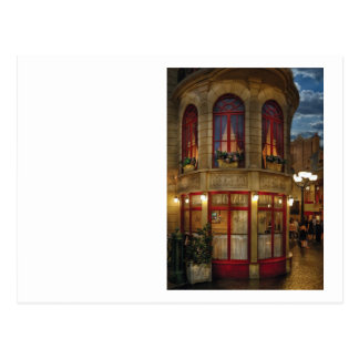 Vegas - Paris - Le Cafe Postcard