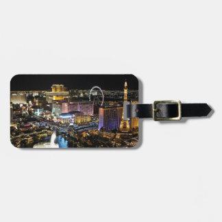 Vegas Skyline Luggage Tag