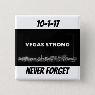 Vegas Strong 15 Cm Square Badge