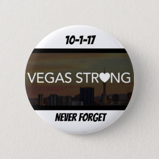 Vegas Strong 6 Cm Round Badge