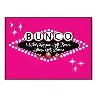 Vegas Style Bunco Invite