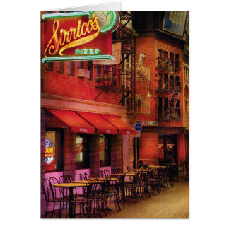 Vegas - The Pizza Joint Greeting Card