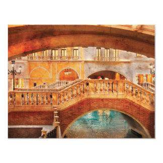Vegas - Venetian - Arches 11 Cm X 14 Cm Invitation Card