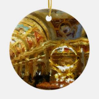 Vegas Venetian Foyer Ceramic Ornament