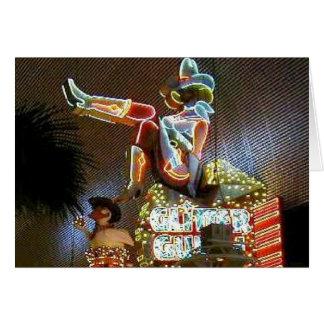 Vegas Vickie Downtown Las Vegas Card
